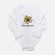 Autism Awareness Long Sleeve Infant Bodysuit