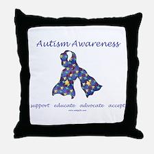 Autism Awareness (seaa) Throw Pillow