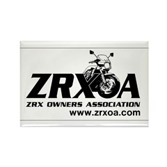 ZRXOA Rectangle Magnet (100 pack)