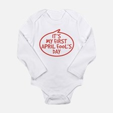 Baby's First April Fool's Day Long Sleeve Infant B