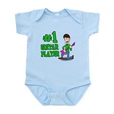 #1 Guitar Player Infant Bodysuit
