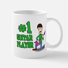 #1 Guitar Player Mug