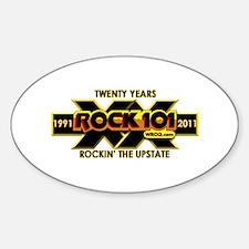 Cute Wroq rock101 classic rock Decal