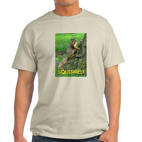 SQUIRREL! Light T-Shirt