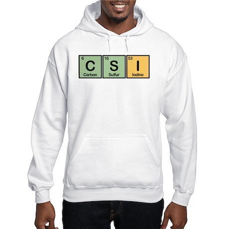 CSI Made of Elements Hooded Sweatshirt