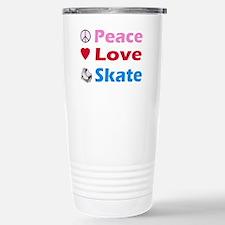 Peace Love Skate Travel Mug