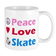 Peace Love Skate Small Mugs