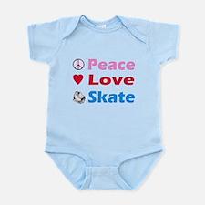 Peace Love Skate Infant Bodysuit