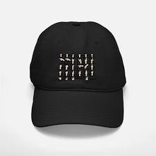 Ameslan Alphabet Baseball Hat