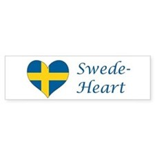 Swede-Heart Bumper Sticker