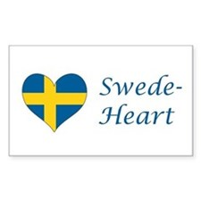 Swede-Heart Decal