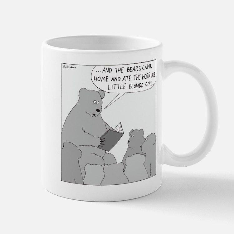 Bear Story Time (No Text) Mug