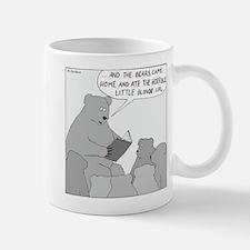 Bear Story Time (No Text) Small Mugs
