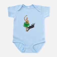 Ballet Pose Infant Bodysuit