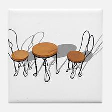 Bistro Setting Tile Coaster