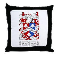 MacClintock Throw Pillow