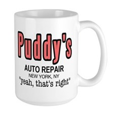 Puddy's Auto Repair Seinfield Mug
