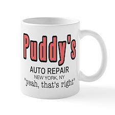 Puddy's Auto Repair Seinfield Mug