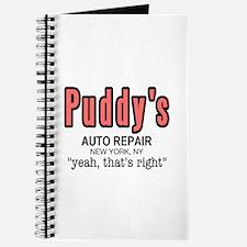 Puddy's Auto Repair Seinfield Journal