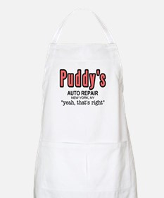 Puddy's Auto Repair Seinfield Apron