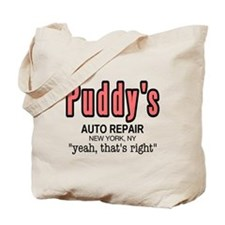 Puddy's Auto Repair Seinfield Tote Bag