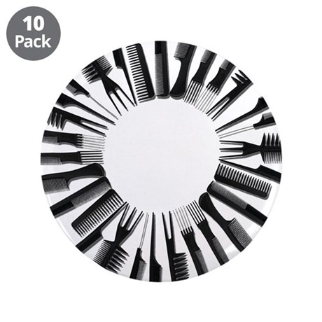 "Circle Combs 3.5"" Button (10 pack)"