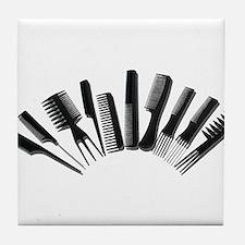 Array Combs Tile Coaster