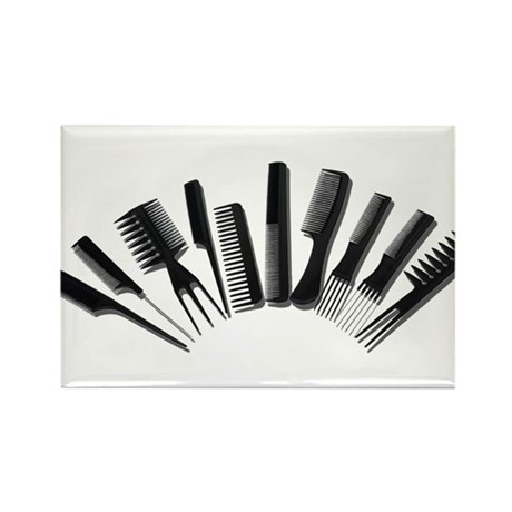 Array Combs Rectangle Magnet (10 pack)