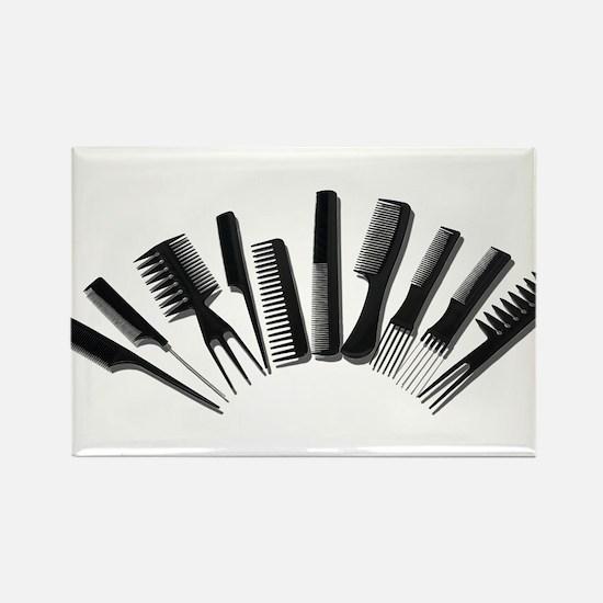 Array Combs Rectangle Magnet
