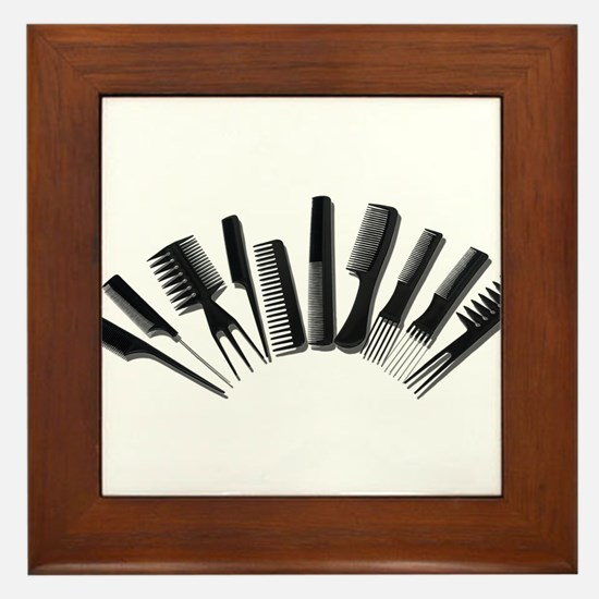 Array Combs Framed Tile