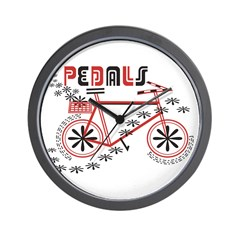 Pedals Cyclist Wall Clock