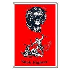Tiger & Stick Fighters Banner