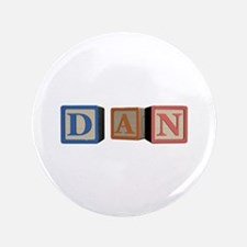 "Dan Alphabet Block 3.5"" Button"