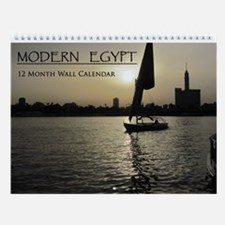 Modern Egypt Wall Calendar