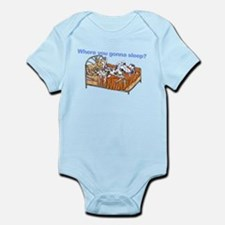NCH Where you gonna sleep Infant Bodysuit