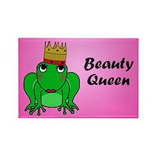 Beauty Queen Rectangle Magnet
