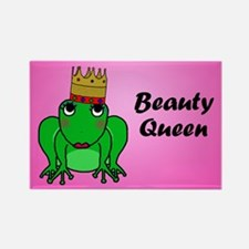 Beauty Queen Rectangle Magnet