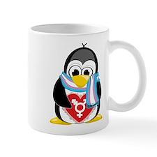 Transgender Penguin Mug