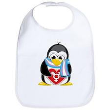 Transgender Penguin Bib