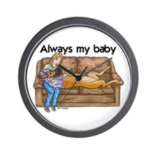CF Always my baby Wall Clock