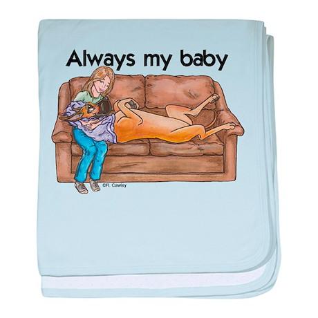 CF Always my baby baby blanket