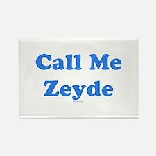 Call Me Zeyde Jewish Rectangle Magnet