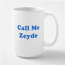 Call Me Zeyde Jewish Mug