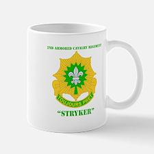 DUI - 2nd ACR(Stryker) with Text Mug
