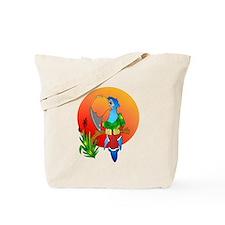 Island Parrot Tote Bag