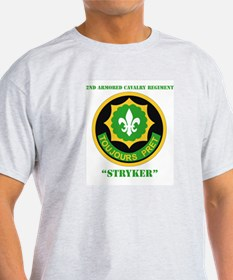 SSI - 2nd ACR(Stryker) with Text T-Shirt