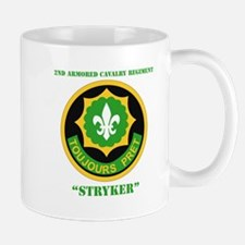 SSI - 2nd ACR(Stryker) with Text Mug