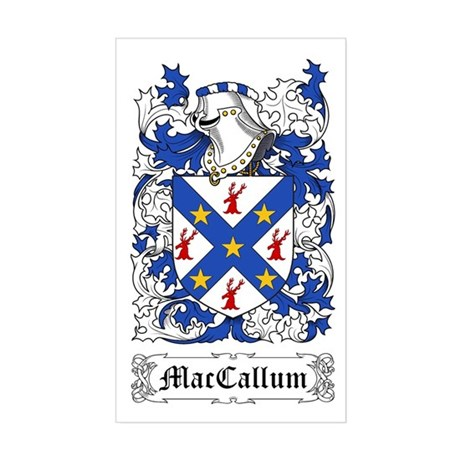 MacCallum Sticker (Rectangle)
