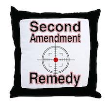 Remedy? Throw Pillow