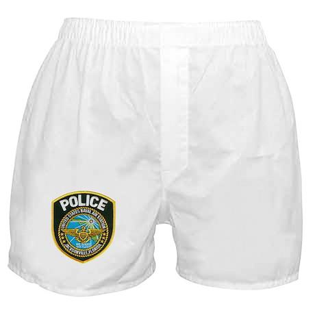 Jacksonville NAS Police Boxer Shorts